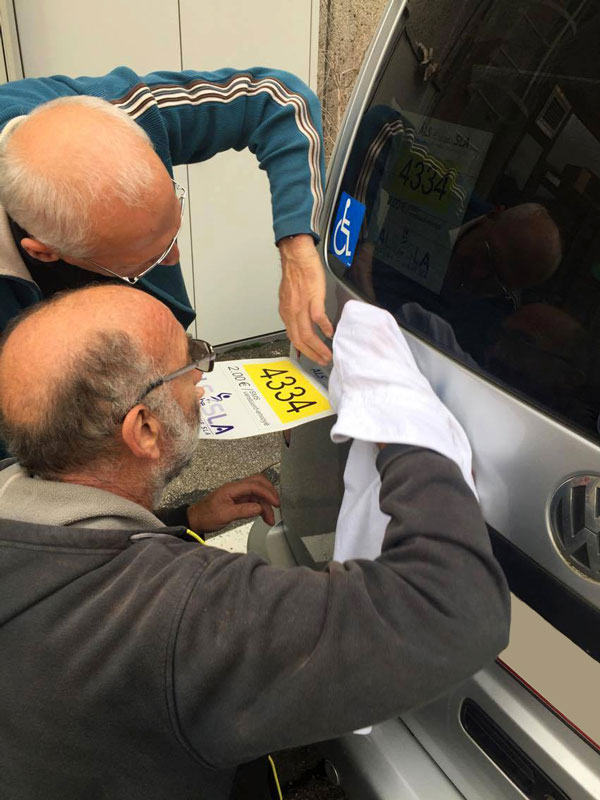 Sticker, Auto, Campagne
